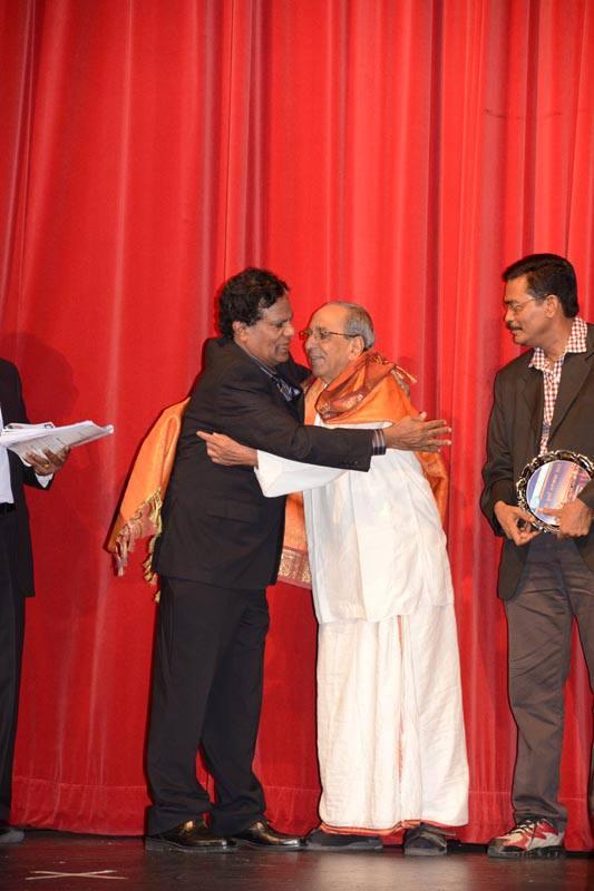 Australian Tamil Broadcasting Corporation felicitates Kathadi Ramamurthy